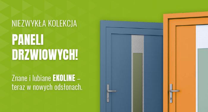 Niezwykła kolekcja paneli drzwiowych! Znane i lubiane Ekoline – teraz w nowych odsłonach.