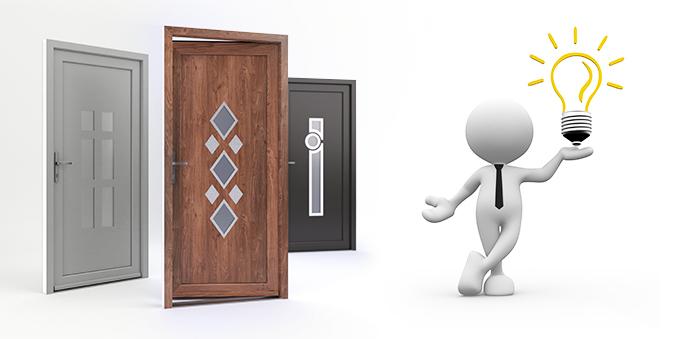 Wzór drzwi według pomysłu klienta