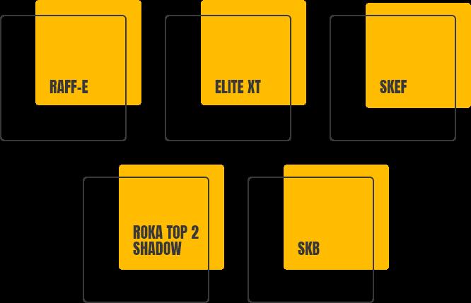 RAFF-E ELITE XT SKEF ROKA TOP 2 SHADOW SKB