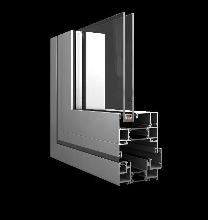 Decalu 88 Folding Doors