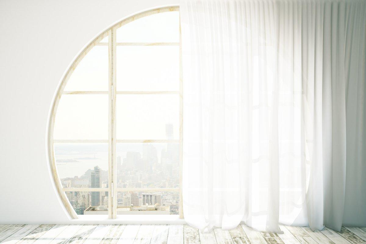 Okno na styl - w jakich wnętrzach zastosować śnieżnobiałe okna