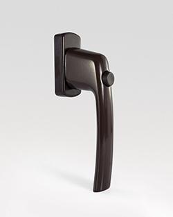 Klamka MACO z przyciskiem